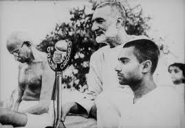 Bacha Khan and Gandhi