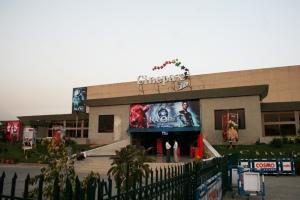 RaOne at a Premiere Cinema of Pakistan