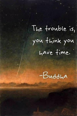 Fake Buddha Quote about time